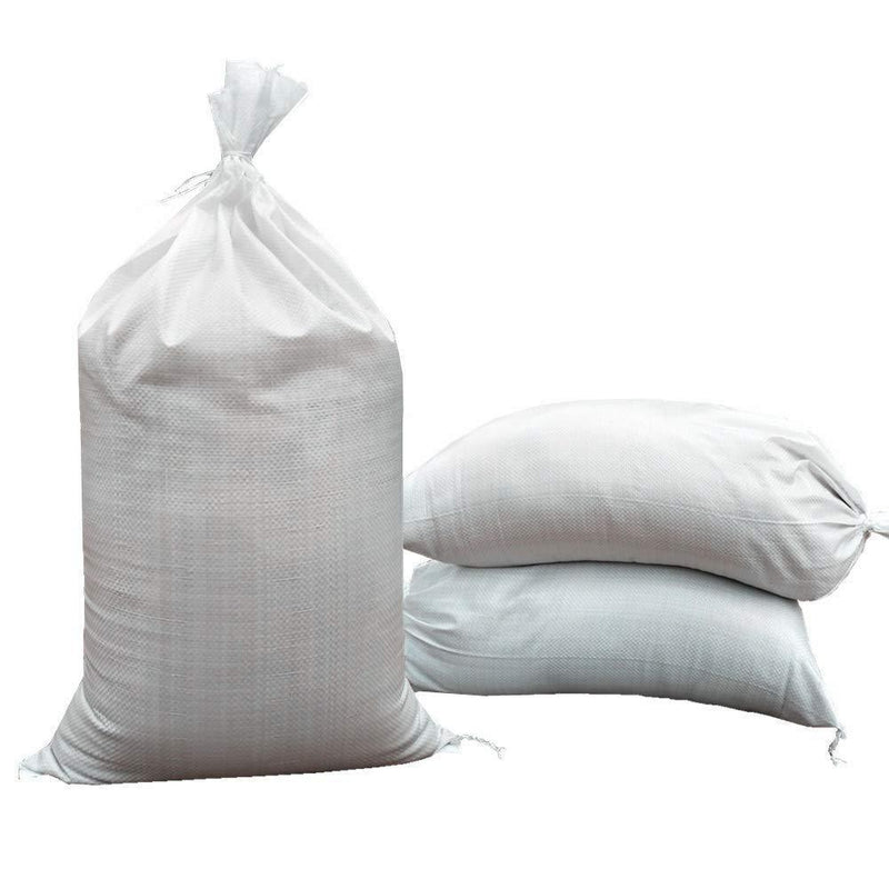 "SHOUTINN Empty Sand Bags - with Solid Ties, UV Protection Sandbags,14 "" x 26 "", Qty of 100"