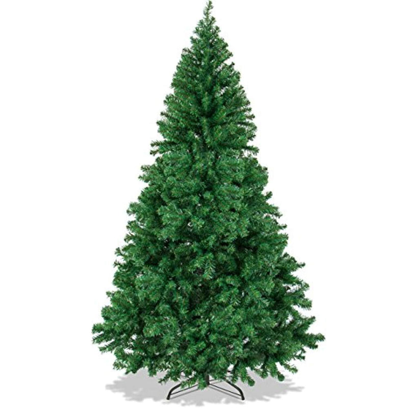 Best Choice Products 6ft Premium Hinged Artificial Christmas Pine Tree w/ Easy Assembly, Solid Metal Legs, 1000 Tips – Green