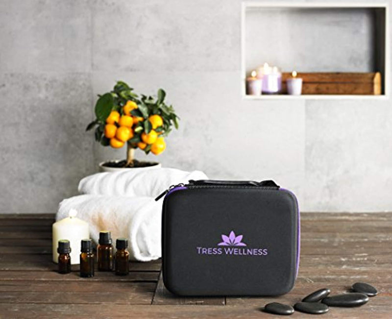 Essential Oils Storage for 30 Bottles - Essential Oils Case 10 15 ml Essential Oils Carrying Case - Essential Oil Travel Case - Holds Young Living & Doterra Containers - Essential Oil Holder Organizer