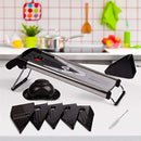 Mandoline Slicer 6 in 1 Razor Sharp Blades - Durable Vegetable Slicer for Home and Professional Use