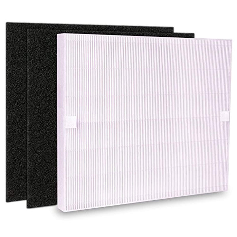 True HEPA Replacement Filter for Coway AP1512HH Air Purifiers 3304899 with 2 Carbon Filters