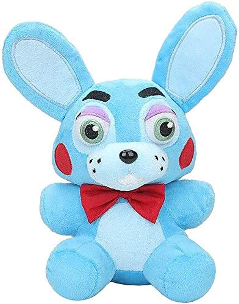 "TOP Satisfied 7"" Five Nights at Freddy's FNAF 15-18cm TV Movie Horror Game Plush Dolls Horror Game Plushie Toy Lovely Gift (Blue Bonnie)"
