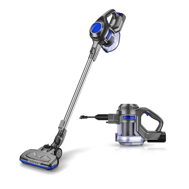 MOOSOO Cordless Vacuum 2 in 1 Stick and Handheld Vacuum Cleaner with Powerful Suction Rechargeable Lightweight Bagless for Home Hard Floor Carpet Car Pet - XL-618A