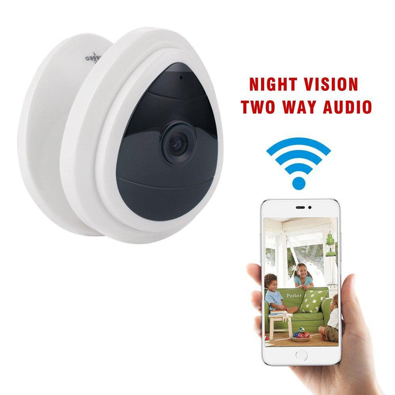 Mini Wireless Home Camera WiFi Office Security IP Cameras Nanny Cam Video Monitor Baby,Dog Camera,Elderly Care with Night Vision Two Way Audio Easy Setup