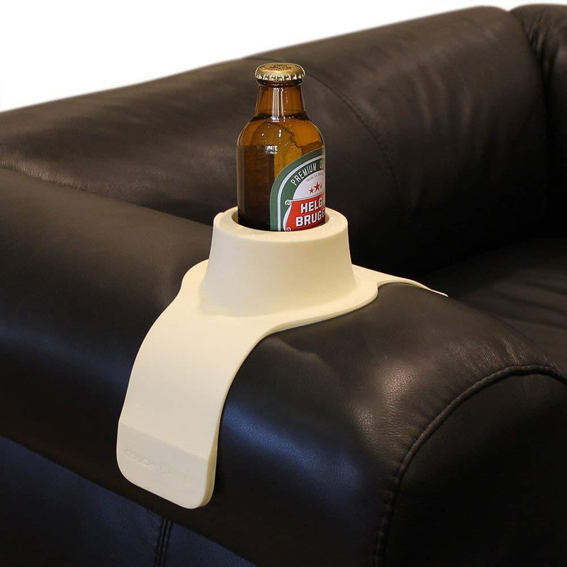 CouchCoaster - The Ultimate Drink Holder for Your Sofa, Mocha Brown