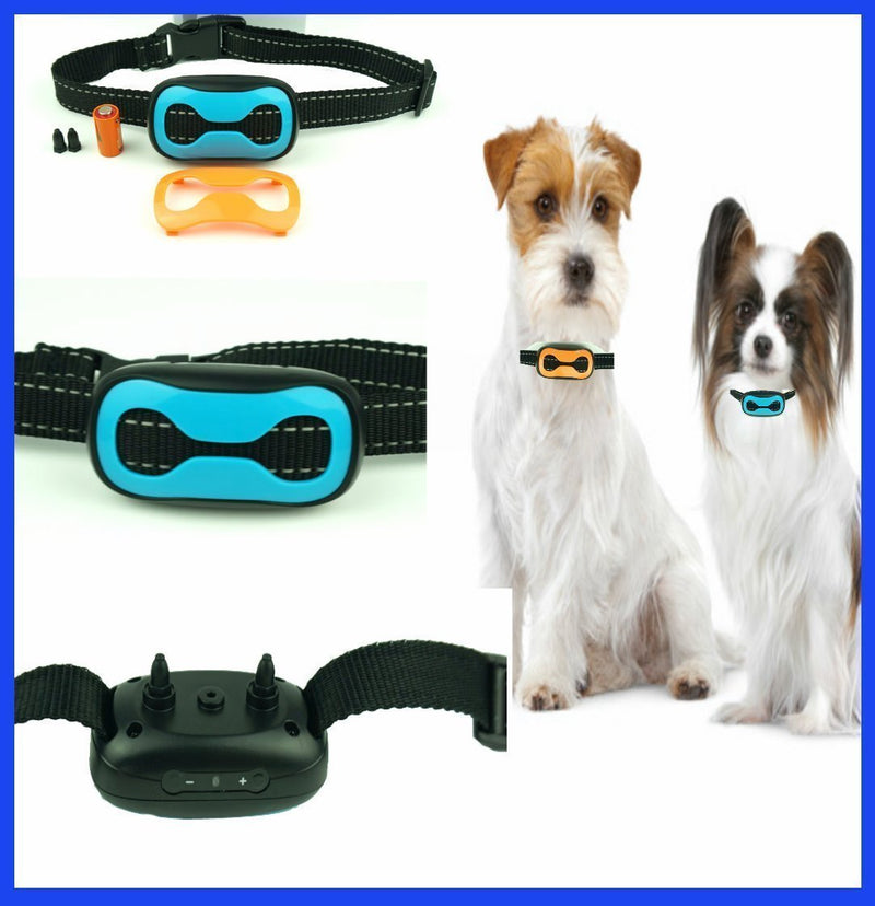 Classic 681-SB (Electronic) No Bark Dog Collar (Small Dogs 8lbs to 130lbs) Bark Training Solution. Best Anti Bark Collar 2018 100% Lifetime Product Warranty