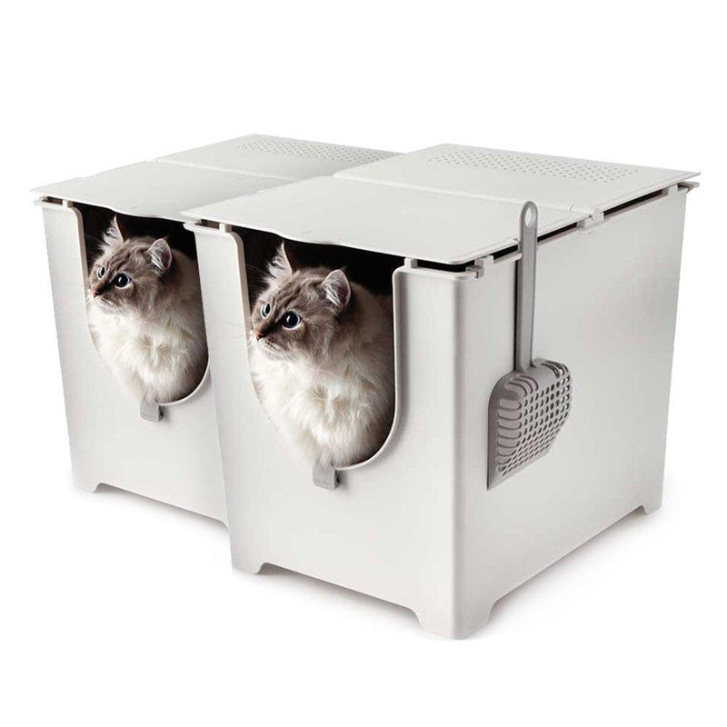 Modkat Flip Litter Box with Scoop and Reusable Liner