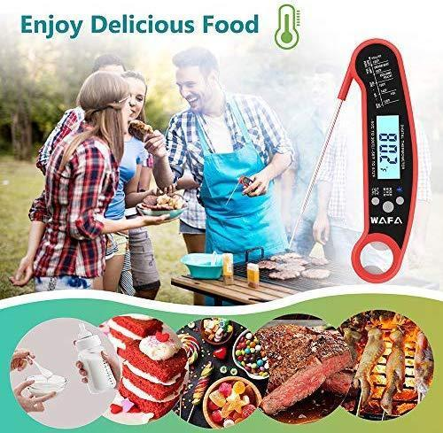 Govee Digital Meat Thermometer, Instant Read Meat Thermometer with Bottle Opener Waterproof Grill Thermometer with Calibration, Backlit Cooking Food Thermometer with USDA FDA Certificate