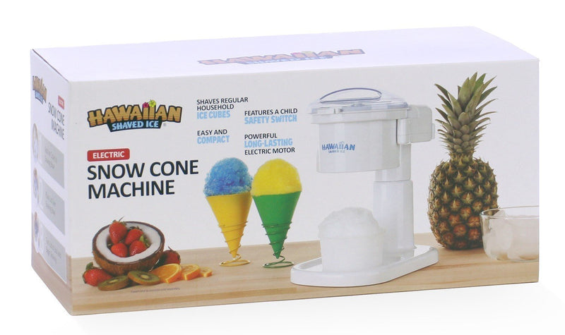 Kid-Friendly Snow Cone Machine [S700] by Hawaiian Shaved Ice | Snow Cones and Slushies in Seconds | Lid Activation | Best Snow Cone Machine for Home-Use | Perfect Holiday Gift Ideas