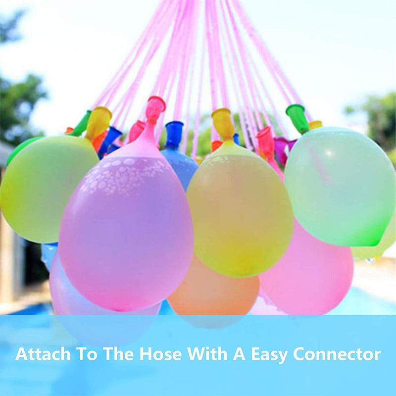 Water Balloons for Kids Girls Boys Balloons Set Party Games Quick Fill Water Balloons 333 Bunches Swimming Pool Outdoor Summer Fun K10