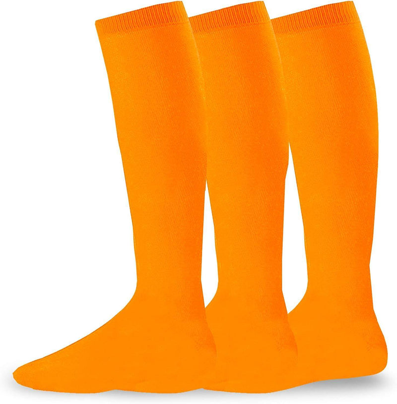 Soxnet Acrylic Unisex Soccer Sports Team Cushion Socks 3 Pack