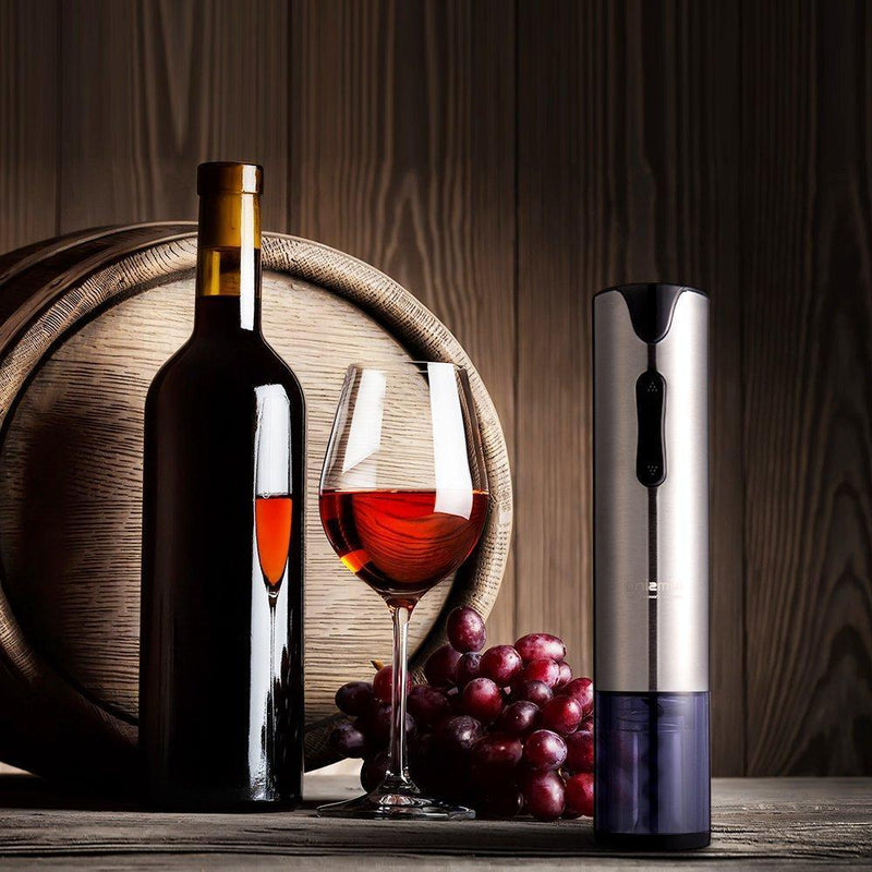 Lumsing Wine Opener Electric Rechargeable Corkscrew Wine Bottle Opener Battery Operated with Foil Cutter