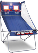 Pop-A-Shot Official Dual Shot Sport Basketball Arcade Game – 10 Games – 6 Audio Options – Durable Construction – Easy Fold Up