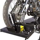 Rage Powersports BW-1000A Black Widow Extra-Long Motorcycle Lift Table with Center Jack