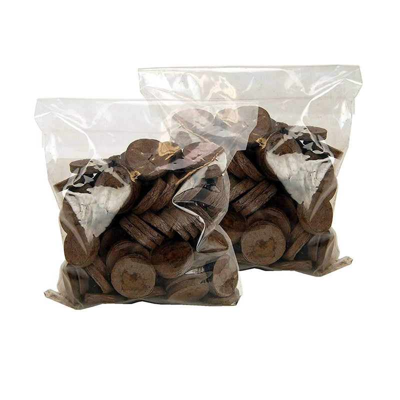 Seed Pods Jiffy-7 Peat Pellets 100 Pack 42mm - Jiffy Brand Seed Starter Pods for Plant Seedlings