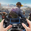 PS4 Controller Wireless Bluetooth Game Controller Dualshock Gamepad for Playstation 4 Touch Panel Gamepad, Dual Vibration Game Remote Control Joystick