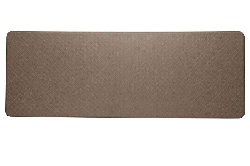 Imprint Cumulus9 Kitchen Mat Nantucket Series Island Area 26 in. x 48 in. x 5/8 in. Black