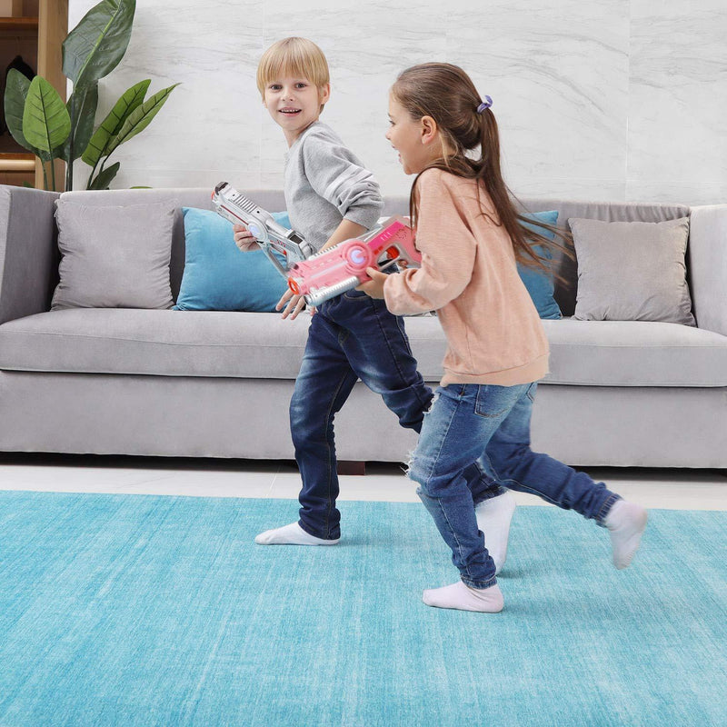 Veken Non-Slip Rug Pad Gripper 5' x 7' Extra Thick Pad for Any Hard Surface Floors, Keep Your Rugs Safe and in Place