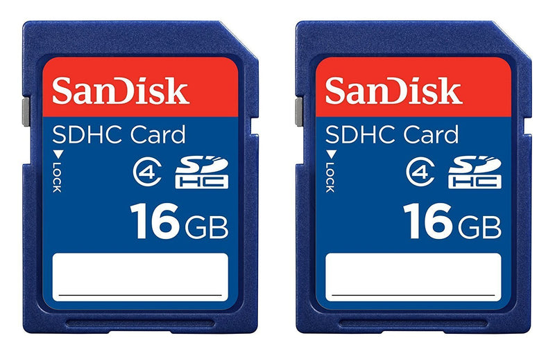 SanDisk 32GB SDHC Flash Memory Card (SDSDB-032G-B35) (Label May Change)