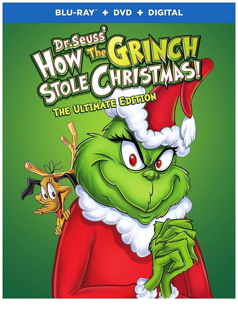 How the Grinch Stole Christmas: UE (BD)