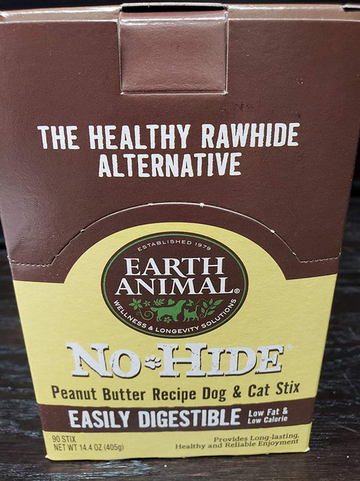 Earth Animal No Hide Peanut Butter Dog Chews
