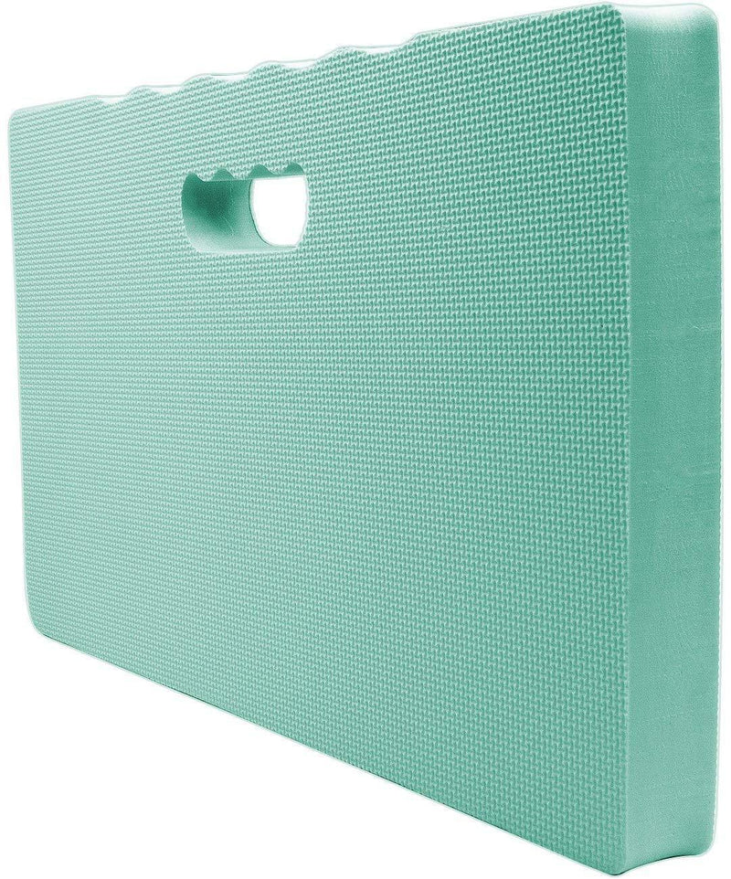 Sorbus Kneeling Mat, with High Density Foam 1 ½ inches Thick, For Kneeling or Sitting, Indoor/Outdoor, Perfect for Gardening, Household Chores, Exercise, Yoga, Floor Repairs, Baby Bath Kneeler (Teal)