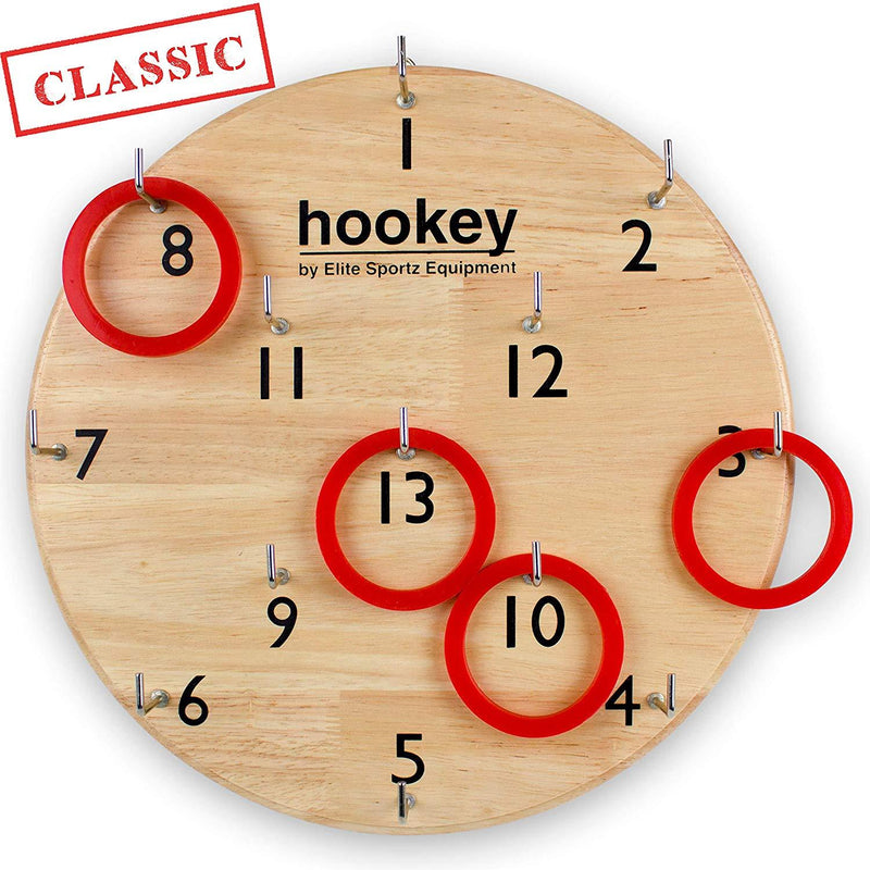 Elite Sportz Gifts for Men, Teens and Safe Games for Kids - Our Beautifully Finished Hookey Games Make Great Christmas Gifts for All. Easy Set-Up, Simply Hang and Play