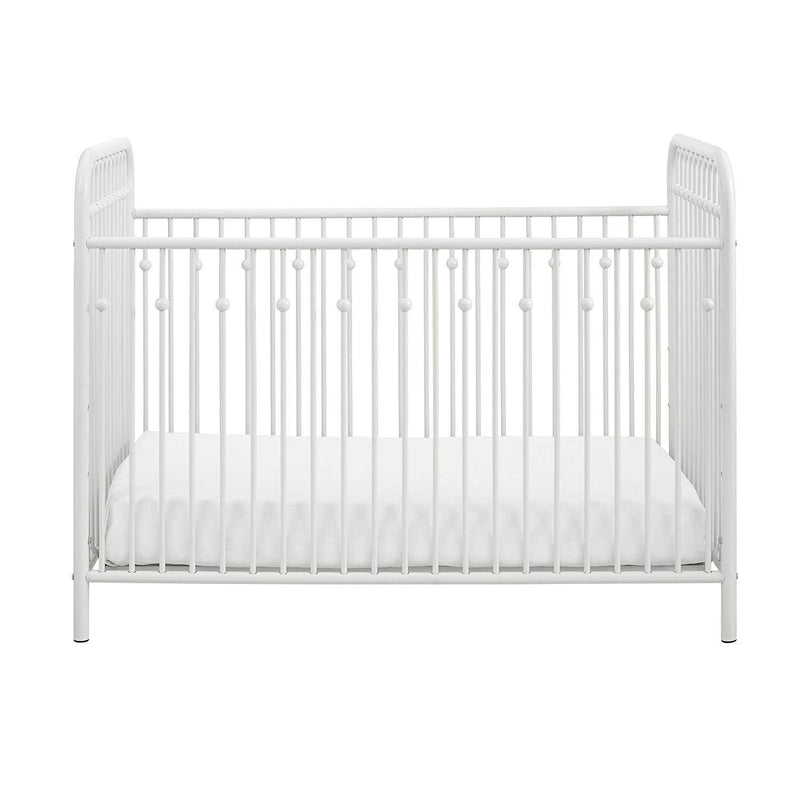 Little Seeds Monarch Hill Ivy Metal Crib, Gold