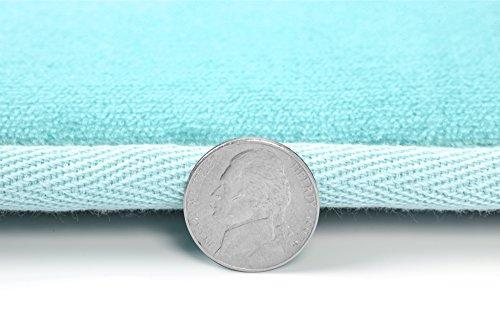 Clara Clark 2-Pack Bath Mat Set – Large and Small Bathroom Rug Set, Absorbent Memory Foam Bath Rugs, Non-Slip, Thick, Cozy Velvet Microfiber Bathrug, Plush Shower, Toilet Floor Bathmats Carpet, Black
