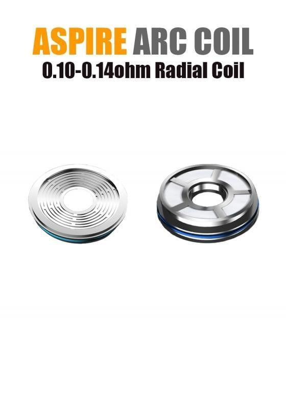 Aspire Radial Coil for Boost (ARC Technology - 0.10/0.14ohm) (3-pack) - Known Distro