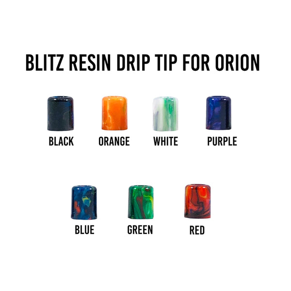 Blitz Resin Orion Drip Tip - Known Distro