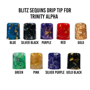 Blitz Sequins Trinity Alpha Drip Tip - Known Distro