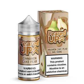 PEARED UP - CINNAMON CAKE PEAR - BEST SELLING VAPE BRAND - TOP EJUICE FLAVOR
