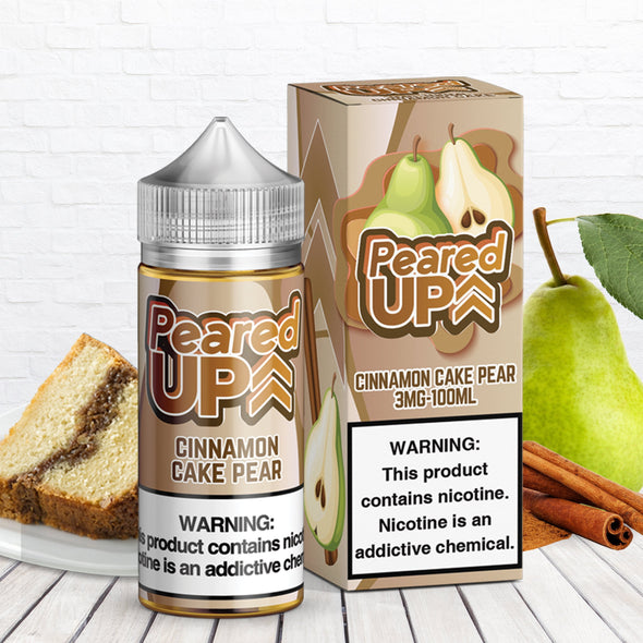 PEARED UP - CINNAMON CAKE PEAR