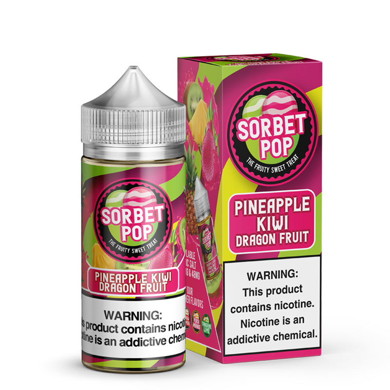 SORBET POP - PINEAPPLE KIWI DRAGON FRUIT - Known Distro