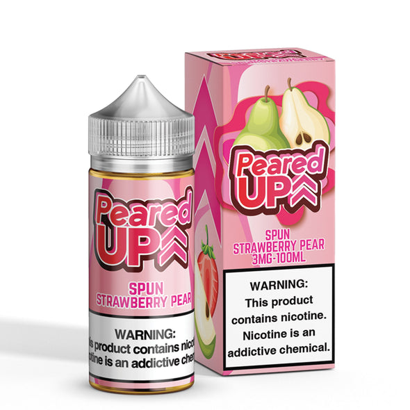 PEARED UP - SPUN STRAWBERRY PEAR - BEST SELLING VAPE BRAND - TOP EJUICE FLAVOR