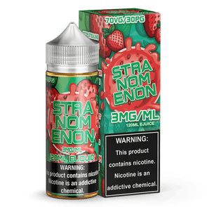 STRANOMENON - Known Distro - Nomenon is a top selling worldwide vape brand. The unique candy flavors are sure to impress! Popular premium e-liquid with lots of attention for a reason. The perfect all day vape for any season.
