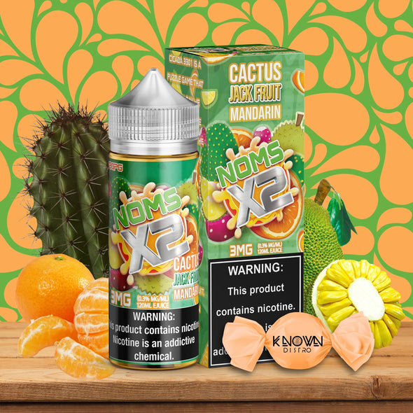 NOMS X2 CACTUS JACK FRUIT MANDARIN - Known Distro