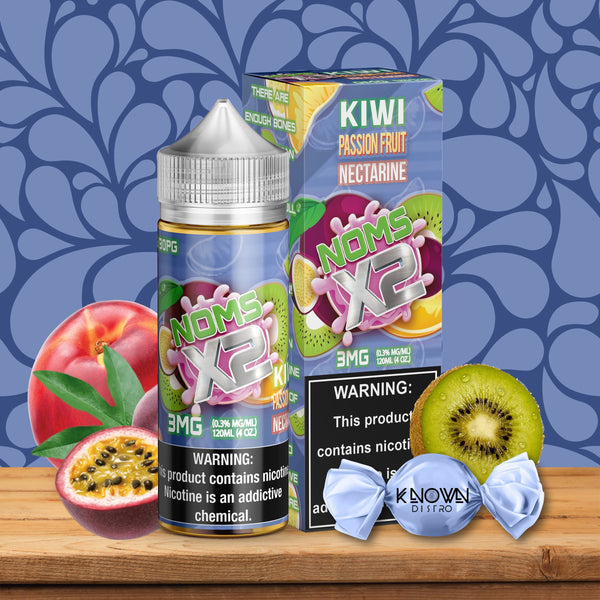 NOMS X2 KIWI PASSION FRUIT NECTARINE - Known Distro