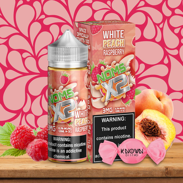 NOMS X2 WHITE PEACH RASPBERRY - Known Distro