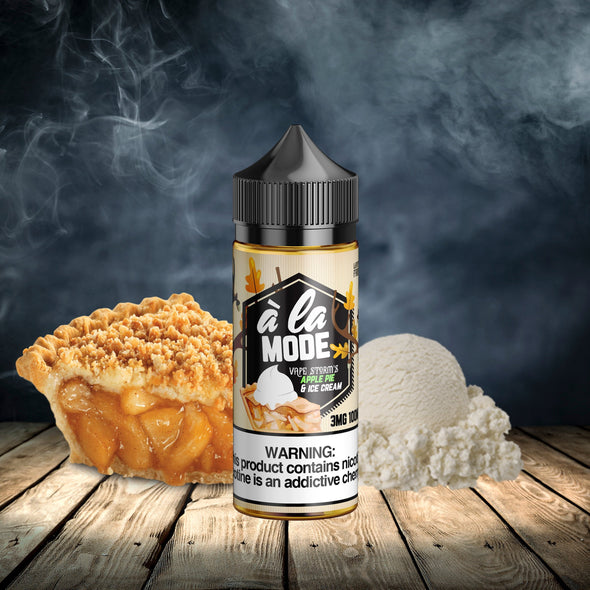 VAPE STORM- A LA MODE - vape juice all time favorite - worldwide e-liquid brand -  Low Price eliquid - Budget vape juice