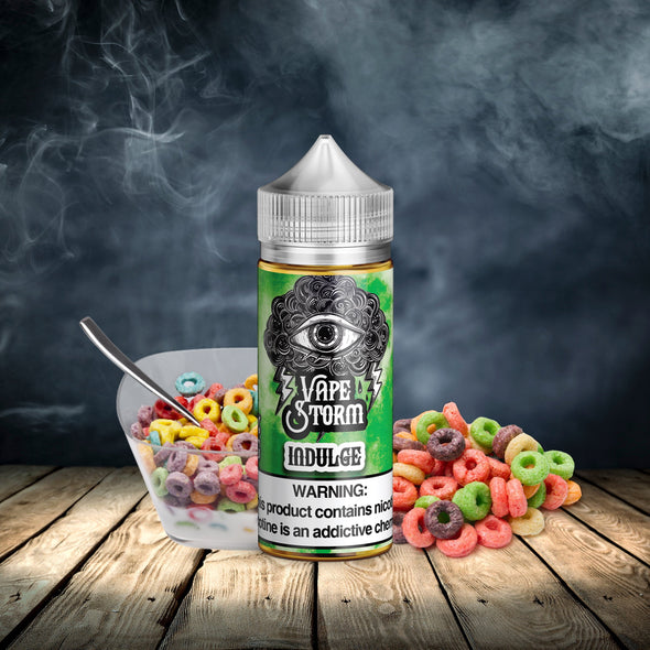 VAPE STORM INDULGE- DAT CEREAL - Known Distro