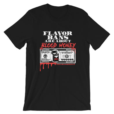 BLOOD MONEY Short-Sleeve Unisex T-Shirt - BLACK - Known Distro