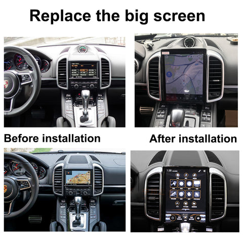 PORSCHE CAYENNE TOUCH SCREEN