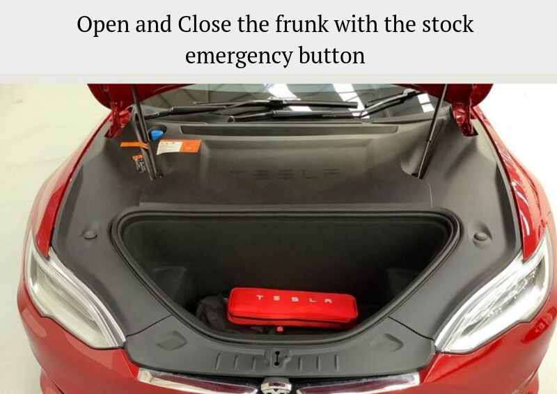 TESLA MODEL S AUTOMATIC FRUNK LIFT