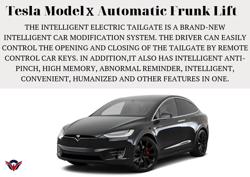 TESLA MODEL X AUTOMATIC FUNK GATE