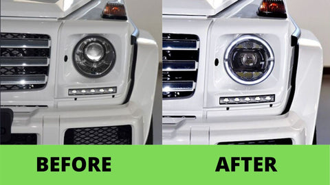 G wagon headlights