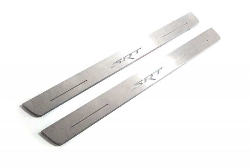 CAR DOOR SILLS SRT FOR DODGE CHARGER 2011+