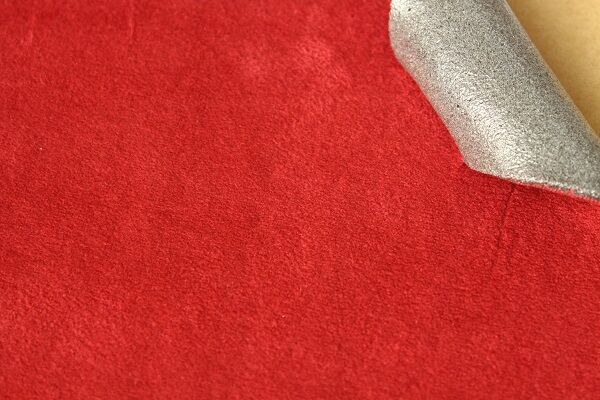 Headliner Fabric  Suede  Spounge 3mm - Red