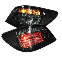 BMW E60 TAIL LIGHTS SMOKE BLACK